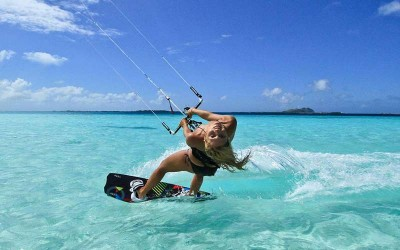 Kite Surfing Los Roques